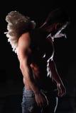 Uomo di angelo Fotografia Stock Libera da Diritti