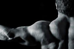 Uomo di Bodybuilding Immagine Stock
