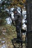 uomo di caccia dell'arco Immagini Stock Libere da Diritti