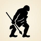 Uomo di caverna royalty illustrazione gratis