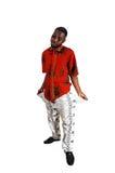 Uomo di colore povero. Fotografia Stock