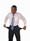 Uomo di colore povero. Immagini Stock Libere da Diritti