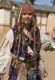 Uomo di festival di rinascita dell'Arizona Fotografia Stock Libera da Diritti