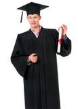 Uomo di graduazione Fotografia Stock