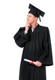 Uomo di graduazione Immagine Stock Libera da Diritti