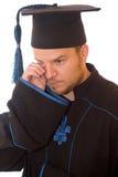 Uomo di graduazione Fotografia Stock Libera da Diritti