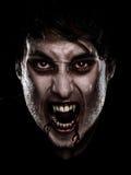 Uomo di Halloween del vampiro Fotografia Stock