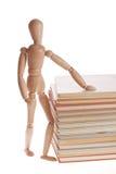 Uomo di legno del manichino dal gestalta di Ikea Fotografia Stock Libera da Diritti