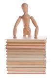 Uomo di legno del manichino dal gestalta di Ikea Fotografie Stock Libere da Diritti