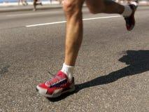 Uomo di maratona Immagine Stock Libera da Diritti