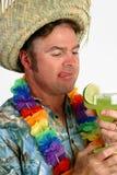 Uomo di Margarita - assetato Fotografie Stock Libere da Diritti
