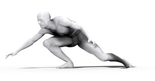 Uomo di marmo - 05 Immagini Stock