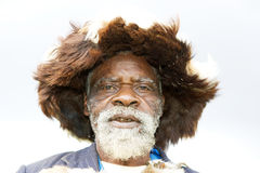 Uomo di medicina ruandese Fotografia Stock