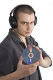 Uomo di musica Fotografie Stock