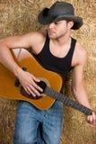 Uomo di musica country Immagini Stock Libere da Diritti