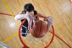 Uomo di pallacanestro Immagine Stock Libera da Diritti