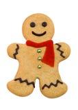 Uomo di pan di zenzero Fotografia Stock