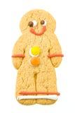 Uomo di pan di zenzero immagine stock