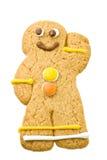 Uomo di pan di zenzero Immagini Stock Libere da Diritti