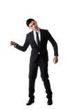 Uomo di posa della marionetta fotografie stock
