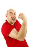 Uomo di rabbia Immagini Stock Libere da Diritti