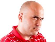 Uomo di rabbia Immagini Stock