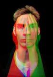 Uomo di RGB Fotografie Stock