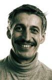 Uomo di risata Fotografie Stock Libere da Diritti