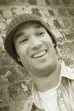 Uomo di risata Immagini Stock Libere da Diritti