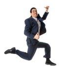 Uomo di salto Fotografie Stock