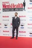 Uomo di salute di Men's dei premi di anno 2015 a Madrid, Spagna Immagine Stock Libera da Diritti