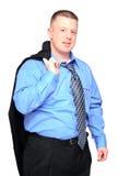 Uomo di sguardo Relaxed di affari Fotografie Stock