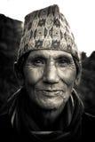 Uomo di Sindhupalchowk, Nepal fotografie stock libere da diritti