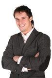Uomo di sorriso fotografia stock libera da diritti