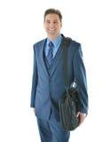 Uomo di viaggio di affari Fotografie Stock