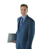 Uomo di viaggio di vendite o di affari Immagine Stock Libera da Diritti