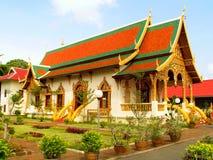 Uomo di Wat Chiang fotografia stock libera da diritti