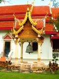 Uomo di Wat Chiang fotografia stock
