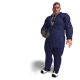 Uomo difettoso della pistola della mafia Fotografie Stock Libere da Diritti