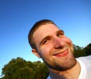 Uomo divertente Immagine Stock