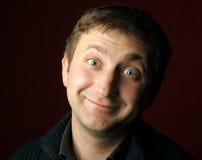 Uomo divertente Fotografie Stock