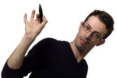Uomo divertente Fotografia Stock Libera da Diritti