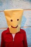 Uomo divertente sorridente allegro Immagini Stock Libere da Diritti