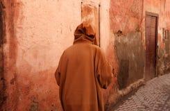 Uomo in djelleba Fotografia Stock Libera da Diritti