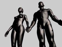 Uomo e donna Immagine Stock Libera da Diritti