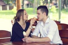 Uomo e donna Fotografie Stock