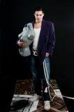 Uomo e mannequin Immagini Stock Libere da Diritti