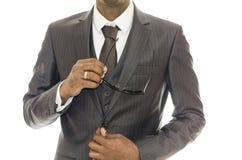 Uomo e vestito immagine stock libera da diritti