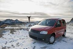 Uomo ed automobile immagine stock libera da diritti