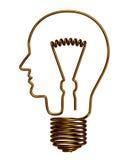 Uomo ed elettricità Fotografie Stock